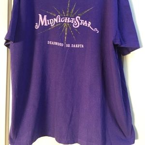 Kevin Costner's Midnight Star Casino t-shirt
